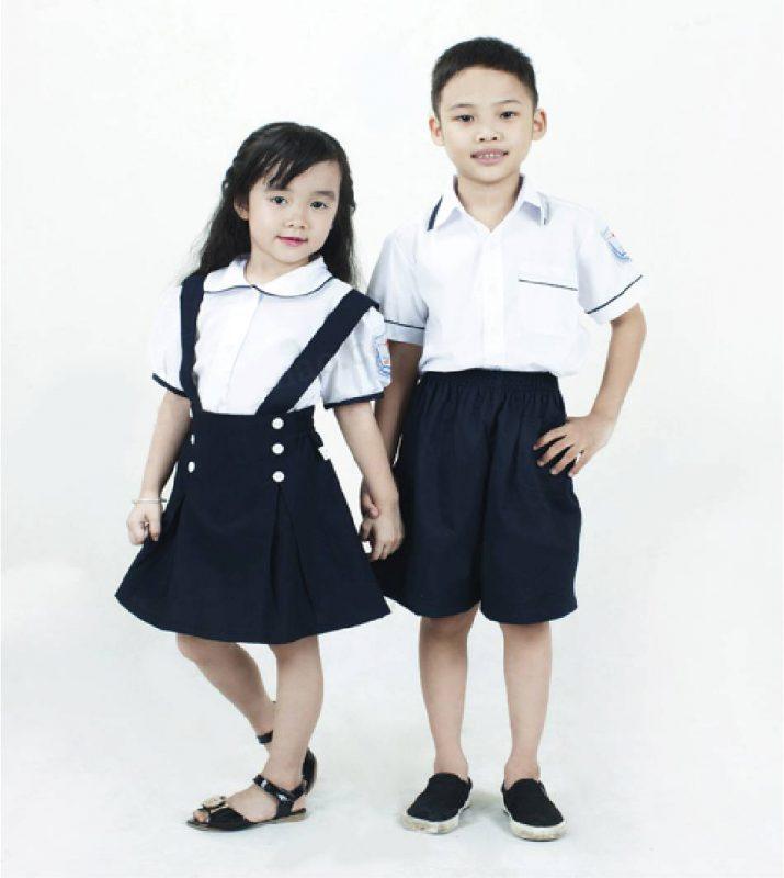 Đồng phục học sinh tiểu học - xu hướng chung của mọi ngôi trường