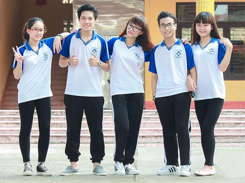 đồng phục học sinh cấp hai