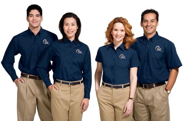 các kiểu đồng phục công sở
