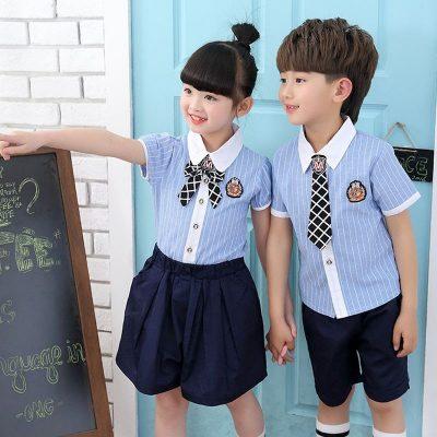 các mẫu đồng phục tiểu học