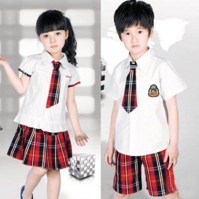 đầm đồng phục học sinh