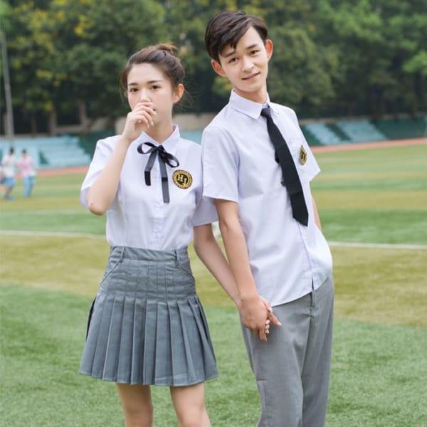 mẫu đồng phục học sinh đẹp
