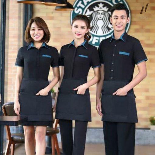 Đồng Phục Quán Ăn Cafe DPKS04