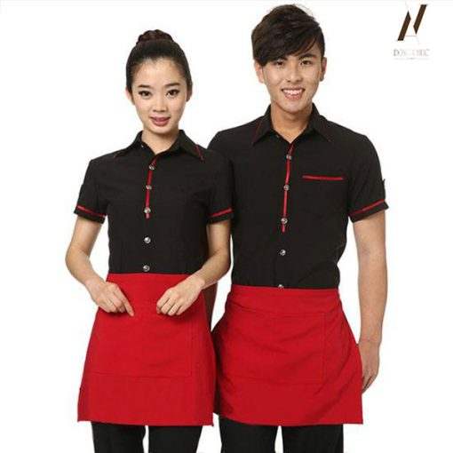 Đồng Phục Quán Ăn Cafe DPKS05