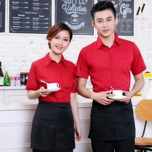 Đồng Phục Quán Ăn Cafe DPKS06