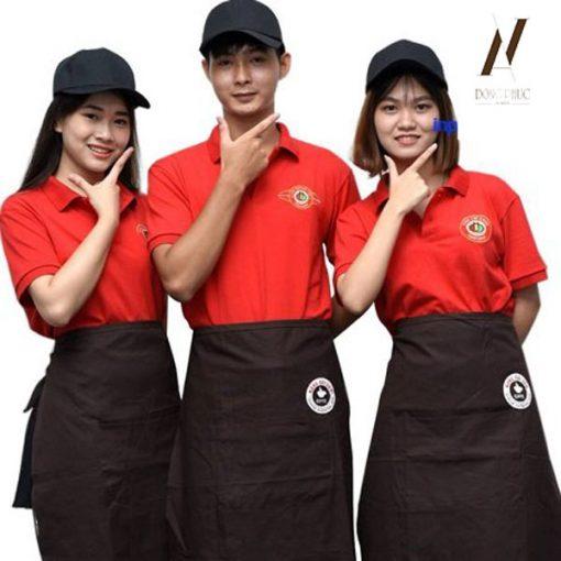 Đồng Phục Quán Ăn Cafe DPKS07