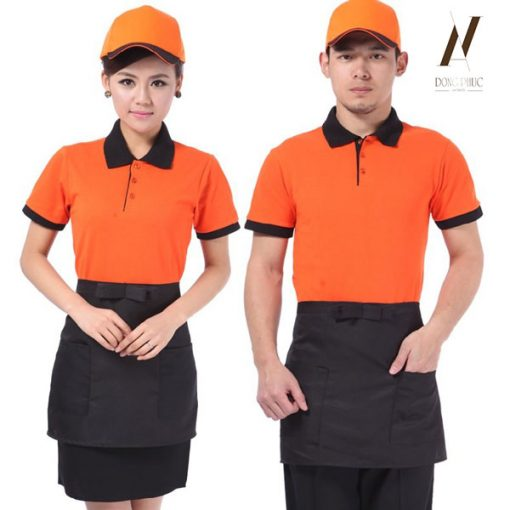 Đồng Phục Quán Ăn Cafe DPKS08