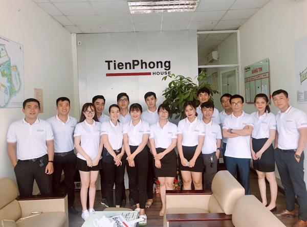 Đồng phục thun công ty Tiên Phong House
