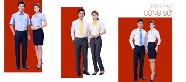 Đồng phục nam nữ công sở + cà vạt