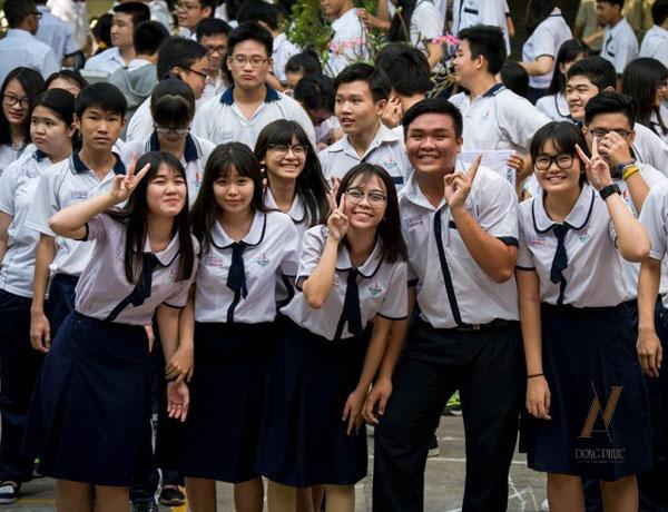 Đồng phục học sinh ở Củ Chi