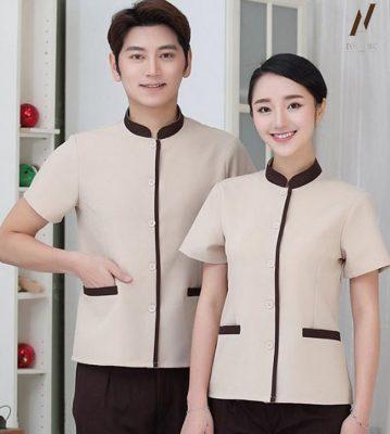 Đồng phục tạp vụ công ty