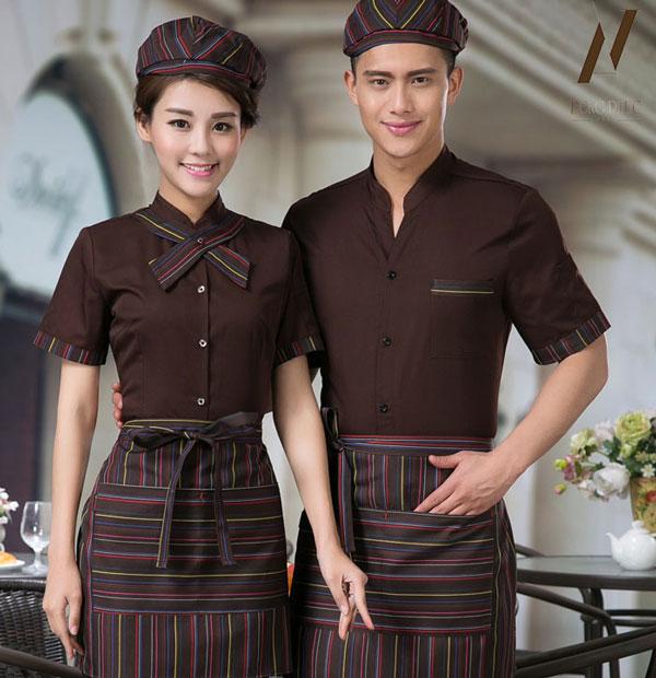 Tùy theo đặc trưng của nhà hàng để thiết kế những mẫu đồng phục hợp mode