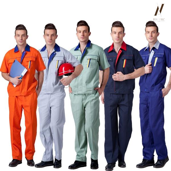 Đồng phục bảo hộ giúp bảo vệ tối ưu đội ngũ lao động