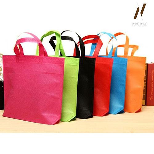 Túi vải không dệt một màu TVKD002